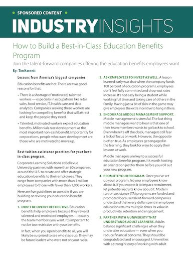 How to Build a Best-In-Class Education Benefits Program_385x514